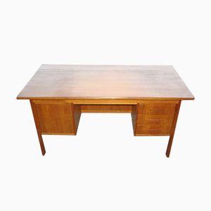 Moderner Schreibtisch aus Teak, 1960er