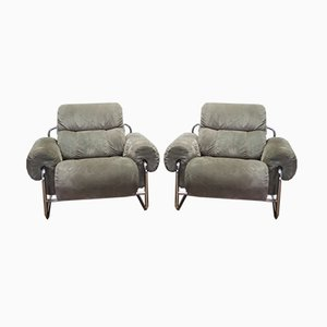 Tucroma Lounge Chairs by Guido Faleschini for Mariani, 1975, Set of 2