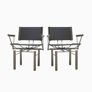 Chaises Série 8600 par Hans Ulrich Bitsch pour Kusch+Co, 1980s, Set de 2