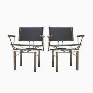 Sedie serie 8600 di Hans Ulrich Bitsch per Kusch+Co, anni '80, set di 2