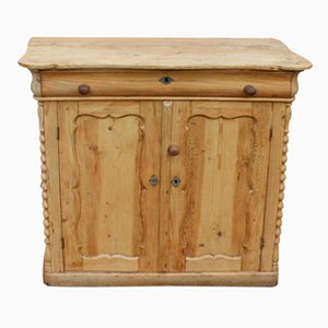 Antique Pine Chiffonier Base, 1905