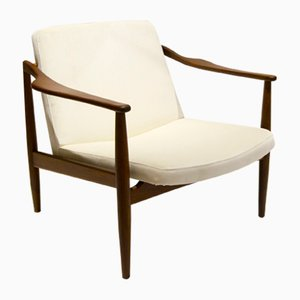 Mid-Century Easy Chair by Hartmut Lohmeyer for Wilkhahn, 1950s