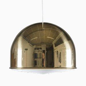 Grand Lampe à Suspension T-75 Vintage en Laiton par Eje Ahlgren pour Bergboms