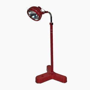 Lámpara de pie médica Bauhaus, años 50