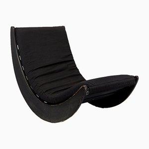 Sedia a dondolo Relaxer II vintage di Verner Panton per Rosenthal