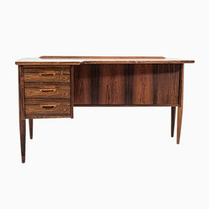 Mid-Century Scandinavian Desk by Göran Strand for Lelångs Möbelfabrik, 1950s