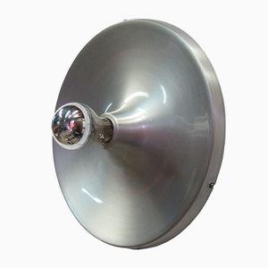 Space Age Wandlampe aus Metall