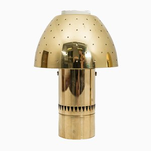 Vintage Swedish Table Lamps in Perforated Brass by Hans-Agne Jakobsson