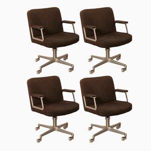 Chaise de Bureau de Vachi, 1960s, Set de four