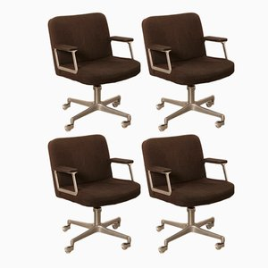 Office Chairs from Vachi, 1960s, Set of 4