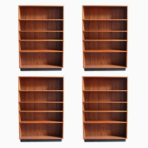 Vintage Bookcases, 1960s, Set of 4