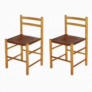 Chaises de Salle à Manger par Ate Van Apeldoorn pour Houtwerk Hattem, 1960s, Set de 2