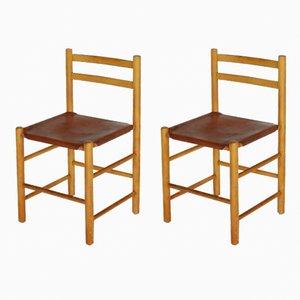Esszimmerstühle von Ate Van Apeldoorn für Houtwerk Hattem, 1960er, 2er Set
