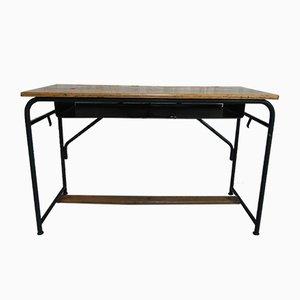 Mid-Century Steel & Oak Desk