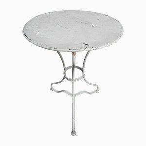 Tavolo da giardino quadrato in acciaio, anni '30