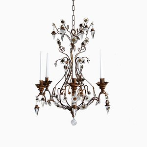 Antique Florentine Chandelier