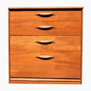 Mid-Century Teak 4-Drawer Chest from Austinsuite, 1960s