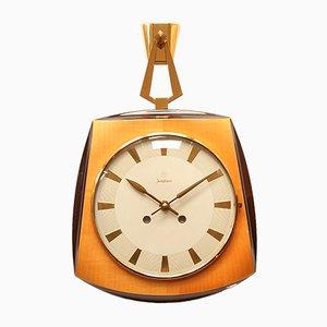 Orologio da parete di Uhrenfabrik Junghans, anni '60