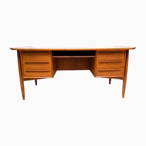 Schreibtisch aus Teak von Arne Vodder für H.P. Hansen, 1960er
