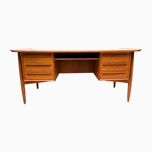 Teak Desk by Arne Vodder for H.P. Hansen, 1960s