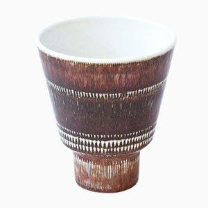 Mid-Century Stoneware Vase by Hertha Bengtsson for Rörstrand, 1950s
