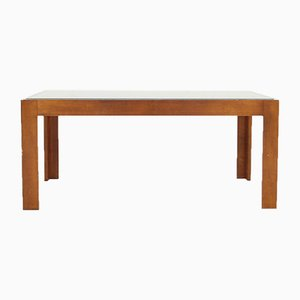 German Beech & Glass Coffee Table