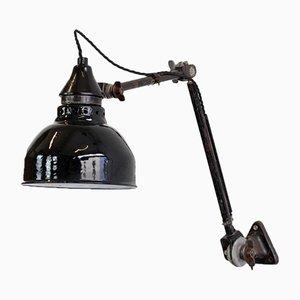 Lámpara industrial de pared de Ernst Rademacher para Rademacher, años 30