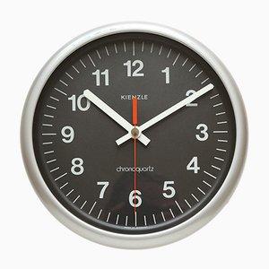 Horloge Murale Industrielle de Kienzle International, 1970s