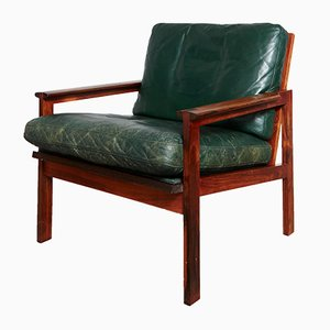 Mid-Century Capella Palisander Easy Chair by Illum Wikkelsø for Niels Eilersen