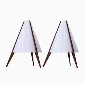 Table Lamps by Hans Agne Jakobsson and Arne Nilsson, 1950s, Set of 2