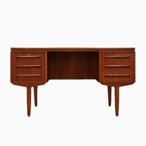 Vintage Danish Desk by J. Svenstrup