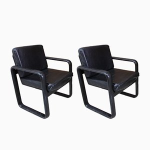 Lounge Chairs by Burkhard Vogtherr for Rosenthal, 1970s, Set of 2