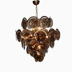 Italian Ceiling Lamp by Gino Vistosi, 1970s