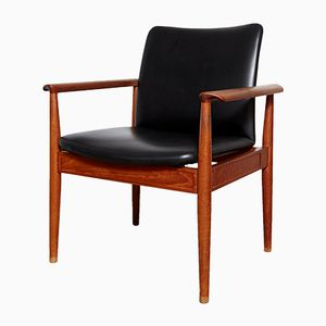Vintage 209 Diplomat Armchair by Finn Juhl for Cado