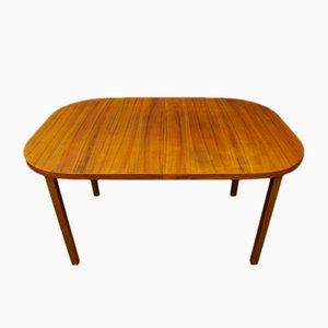 Mesa de comedor vintage de teca