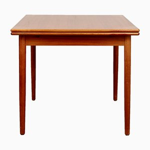 Mid-Century Extendable Teak Dining Table from AM Mobler