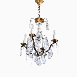 Lámpara de araña francesa vintage