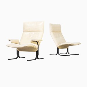 DS 2030 Lounge Chairs by Hans Eichenberger for de Sede, 1970s, Set of 2
