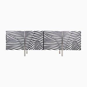 Amor Stripe 12 Sideboard by Trix & Robert Haussmann for Wogg, 1980s