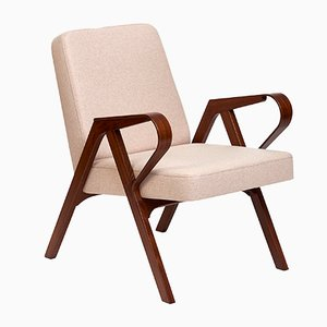 Aurora Armchair in Beige Wool from Hunik Design