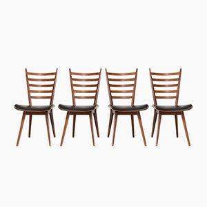 Chaises de Salle à Manger Vintage par Cees Braakman pour Pastoe, Set de 4