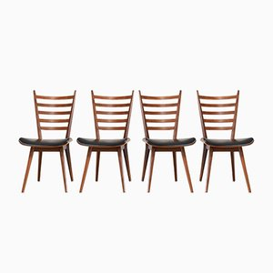 Vintage Dining Chairs by Cees Braakman for Pastoe, Set of 4