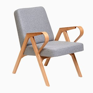 Aurora Armchair in Grey Wool from Hunik Design