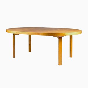 Karelian Birch Dining Table by Alvar Aalto for Aartek, 1950s