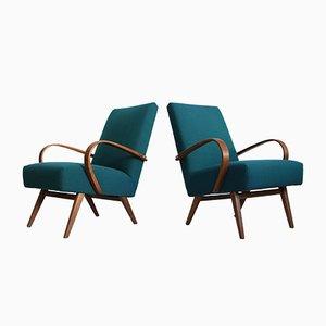 Type 53 Lounge Chairs by Jaroslav Smidek for Thonet, 1960s, Set of 2