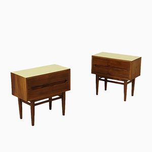 Vintage American Nightstands, 1950s, Set of 2