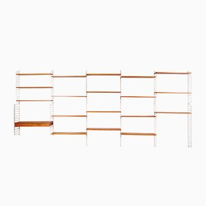 String Shelving System by Nisse Strinning for String, 1960s