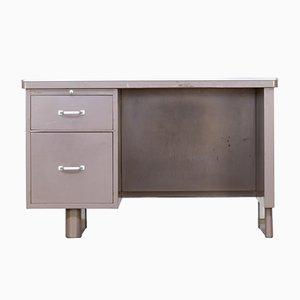 Metall Schreibtisch von Blerk Tilburg, 1950er