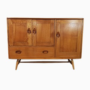 Elm Sideboard with Beech Legs by Lucian Ercolani for Ercol, 1960s
