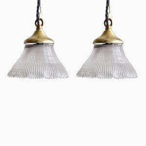 Lampes à Suspension Tulip Vintage, Set de 2